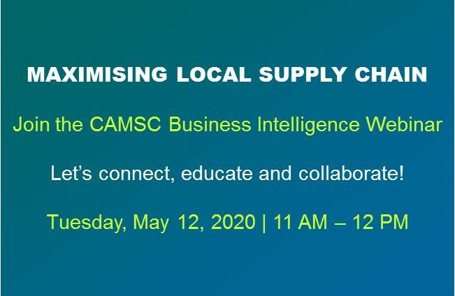 CAMSC Maximising Local Supply Chain