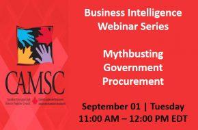 Business Intelligence Webinar Series: Mythbusting Government Procurement