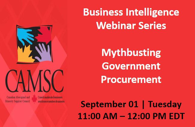 Business Intelligence Webinar Series: Mythbusting Government Procurement