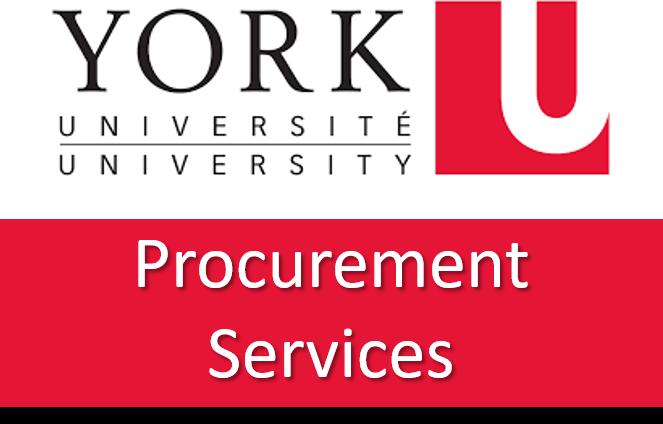 York University Procurement Services