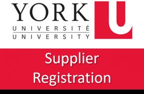 Register Today for York University Diverse Supplier