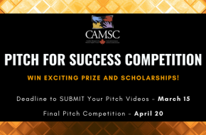 CAMSC Pitch for Success Competition