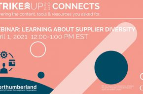 Supplier Diversity – StrikeUP Event Brief