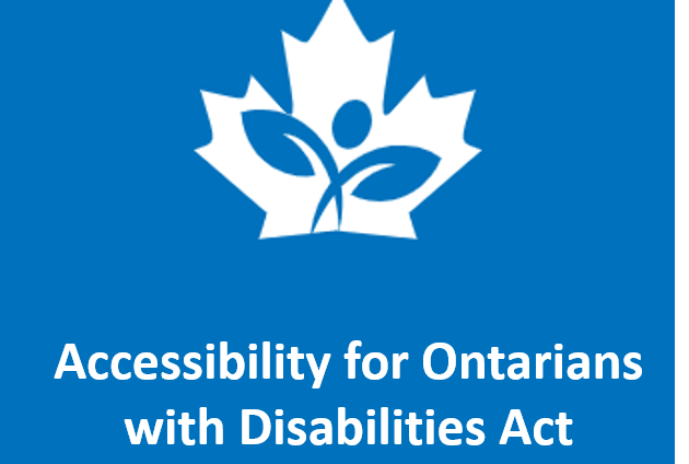 Accessibility for Ontarians with Disabilities Act with Company Logo