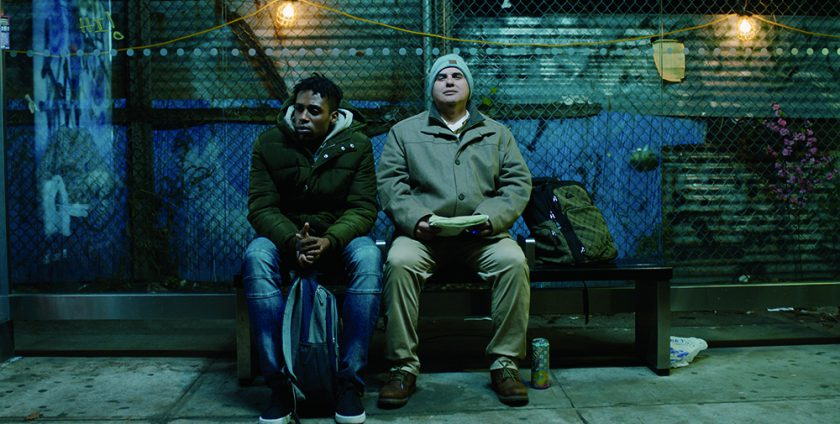 Feeling Through (2020) (Short) Steven Prescod (L) and Robert Tarango Credit: Doug Roland Films